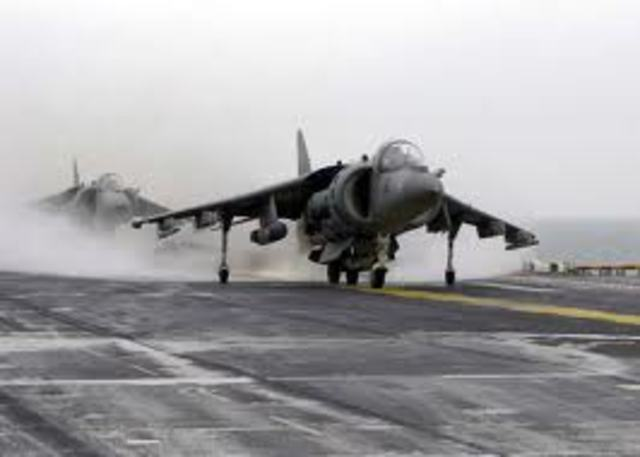 Sea Harrier vtol