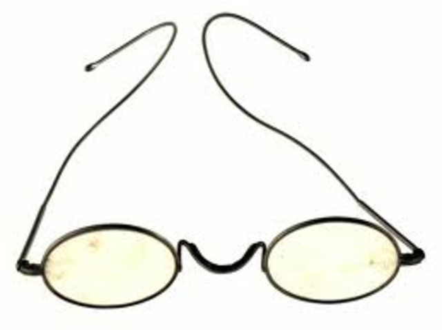 Invention of spectacles