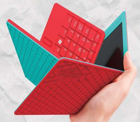 Una tableta Plegable