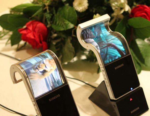 La vistosa pantalla OLED (led organico) Samsung