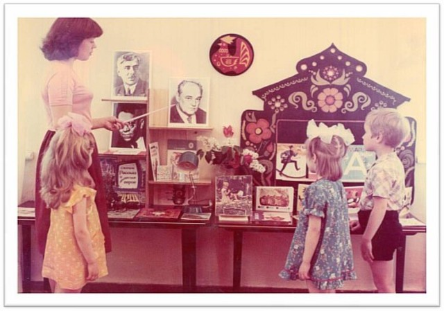Эстетические требования и  содержание  книжных уголков в группах дошкольного возраста