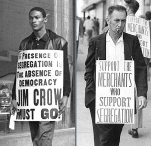 Creation of Jim Crow Laws