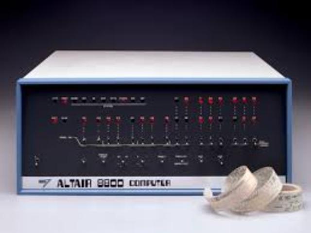Se Lanzo Altair 8800 Primera Computador Personal