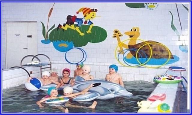 Занятия в бассейне ДОУ