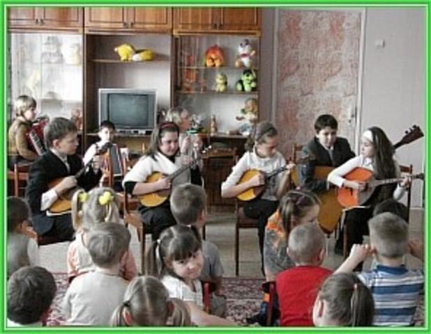 В гостях детская школа искусств