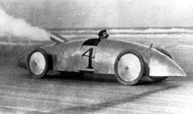Stanley Steamer Race Car