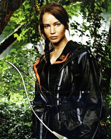 """elle joueait katniss everdeen en """" The Hunger Games:"""""""