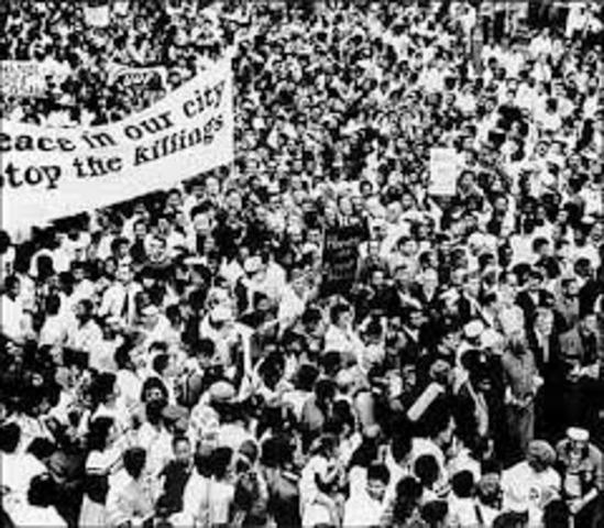 non violent protest