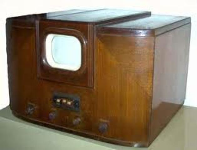 First TV invented