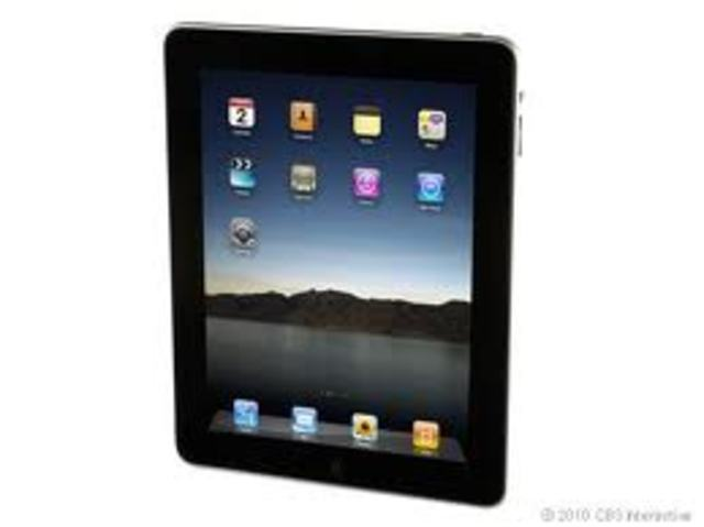 First iPad released