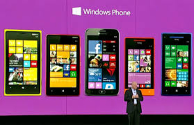 First Windows Phone released