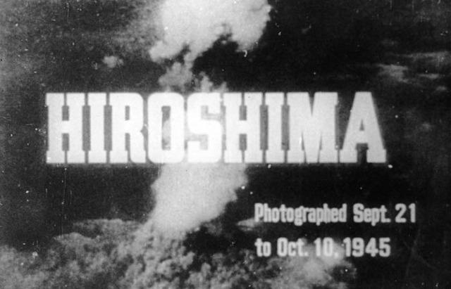 The US drops an atomic bomb on Hiroshima