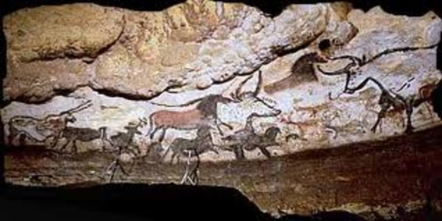 Cave Paintings Found in France