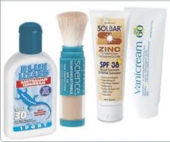 Sunscreen- Bengamin Green