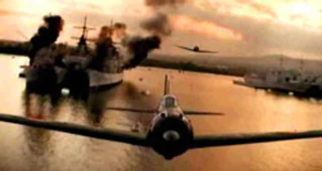 WWII Events: Japan attacks USA at Pearl Harbor