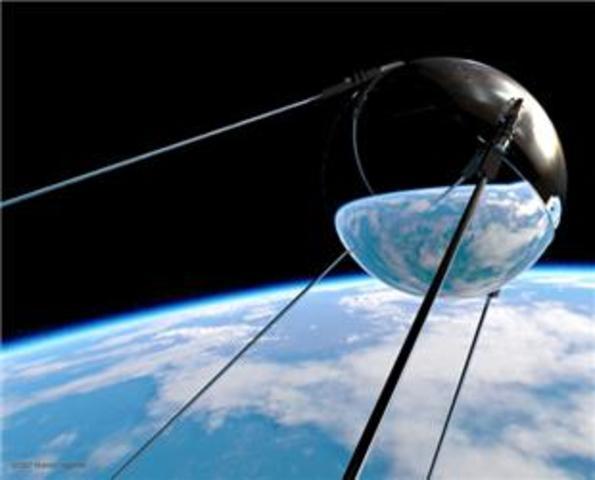 Soviet launch Sputnik