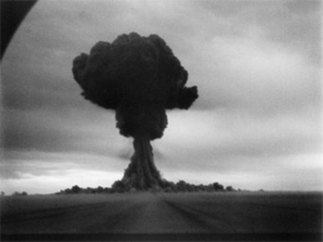 Soviets create & test nuclear bomb