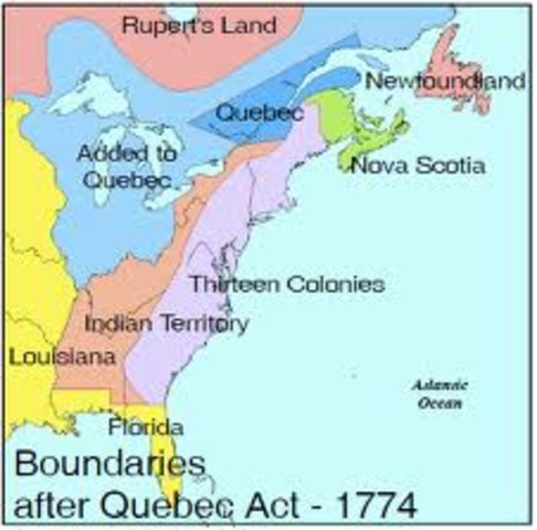 The Quebec Act (The Intolerable Act)