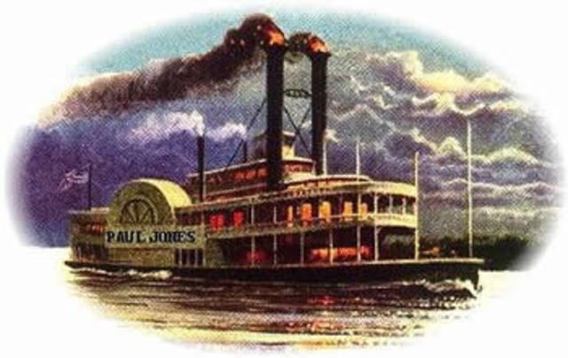 Steamboats 1807 EF