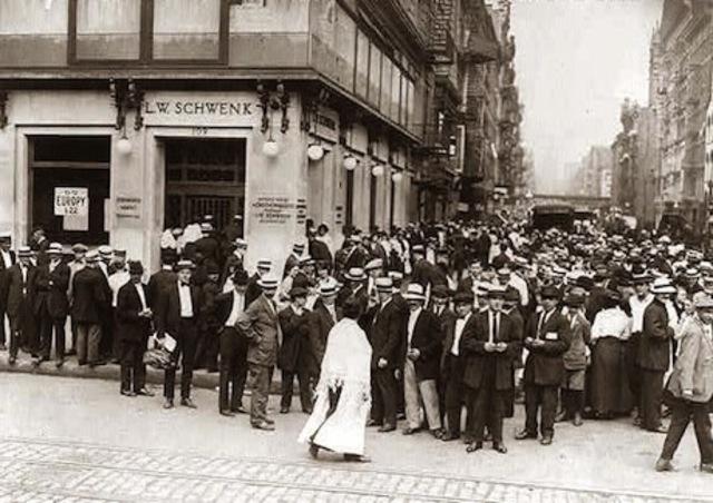 A severe panic of Bank Runs