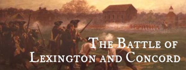 The Battle Lexington and Concord