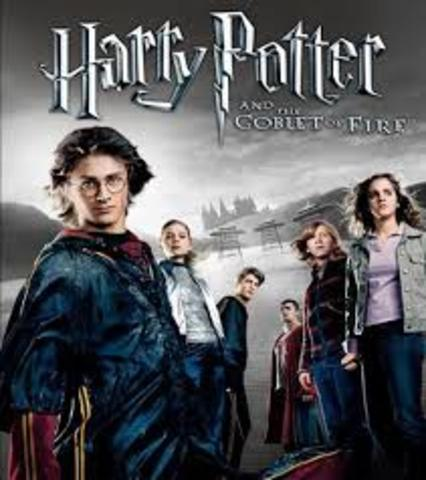 Harry Potter and the Goblet of Fire movie release.