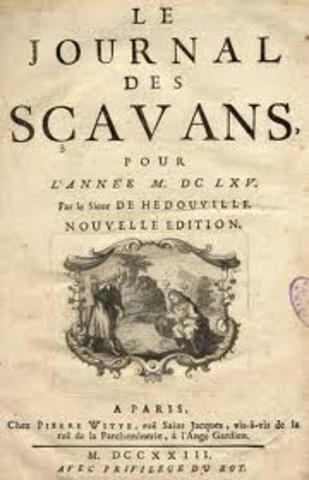 JOURNAL DE SCAVANS