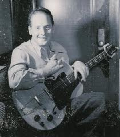 """Les Paul recorded a #1 hit, """"It's Been a Long, Llong Time"""""""