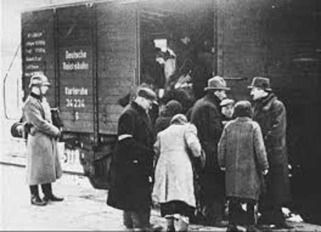 Thousands of Jews Deported
