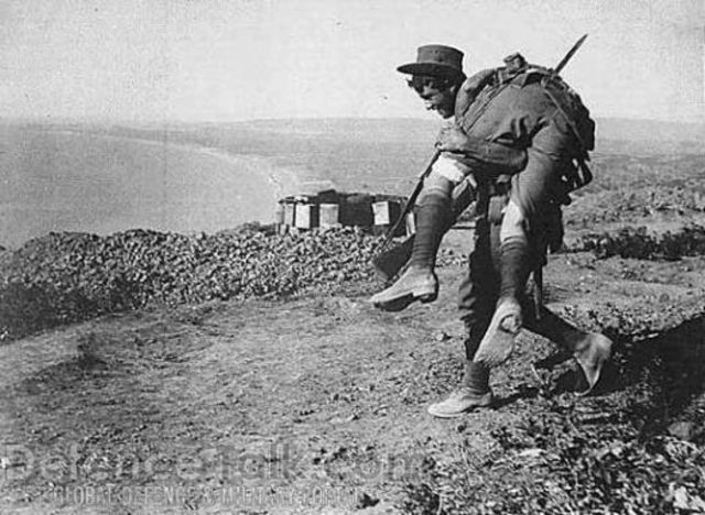 Battle of Gallipoli began