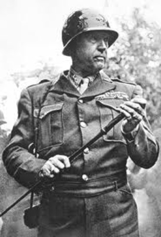 General Patton's 3rd Army croses the Rhine River