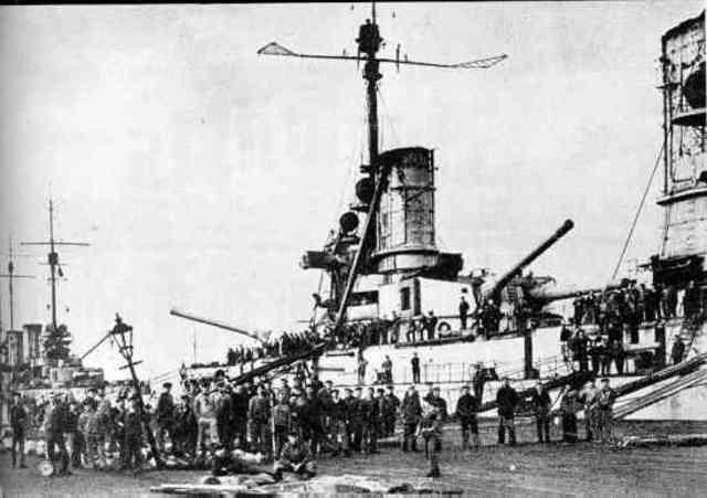 Germany's navy mutiny