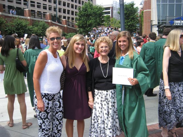 Graduated high school.