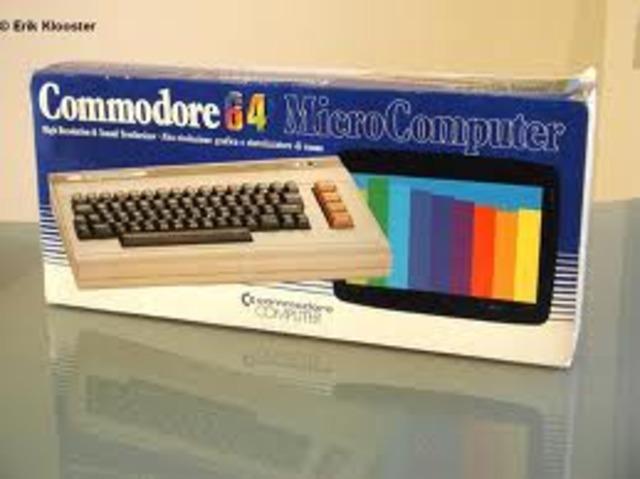 Aparición del Commodore 64