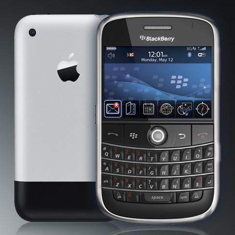 Blackberry and Apple