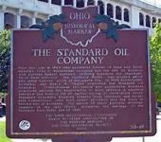 Standard OIl Company organiized