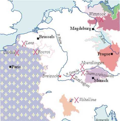 Phase 4 of the 30 Years' War