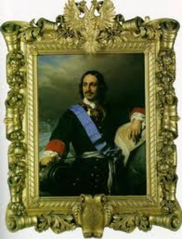 Peter the Great became a sole czar