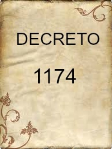 DECRETO 1174 DE 1994