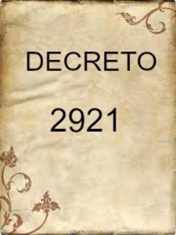 DECRETO 2921 DE 1994