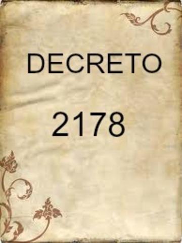 DECRETO 2178 DE 1994