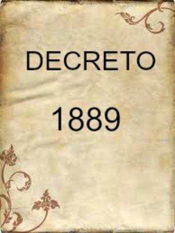 DECRETO 1889 DE 1994