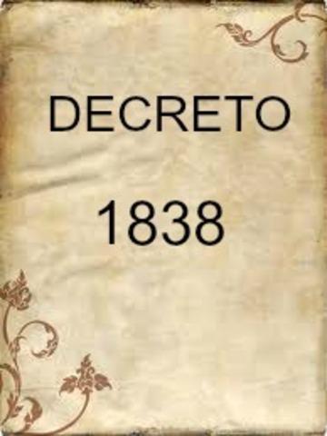 DECRETO 1838 DE 1994