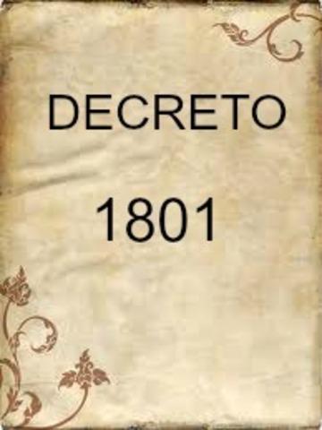 DECRETO 1801 DE 1994