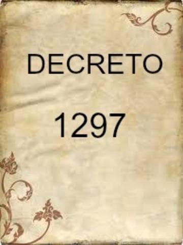 DECRETO 1297 DE 1994