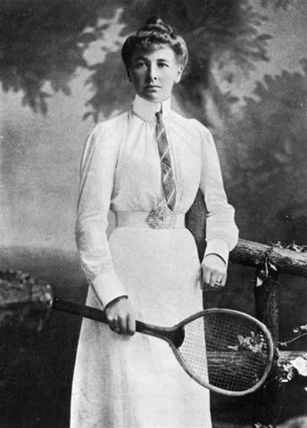 Tennis player Charlotte Cooper of Great Britain became the first female Olympic champion in the tennis singles.