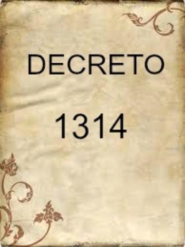DECRETO 1314 DE 1994