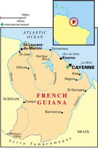 Guerra de Independencia Guyana Francesa