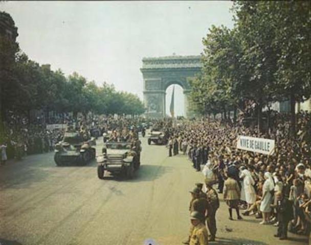 The Allies Liberate Paris