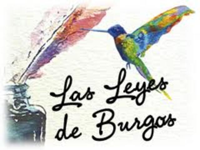 LAS LEYES DE BURGOS